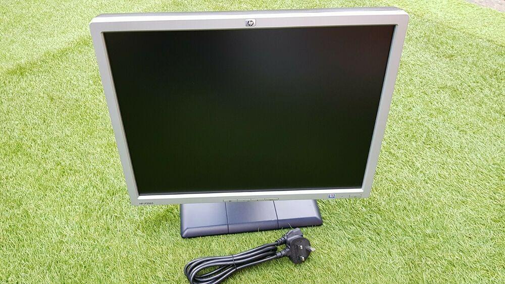 Hp Lp2065 20 Inch Lcd Monitor Swivel Display 1600 X 1200 16 7 Million Colours Hp Lcd Monitor Monitor Cctv Monitor
