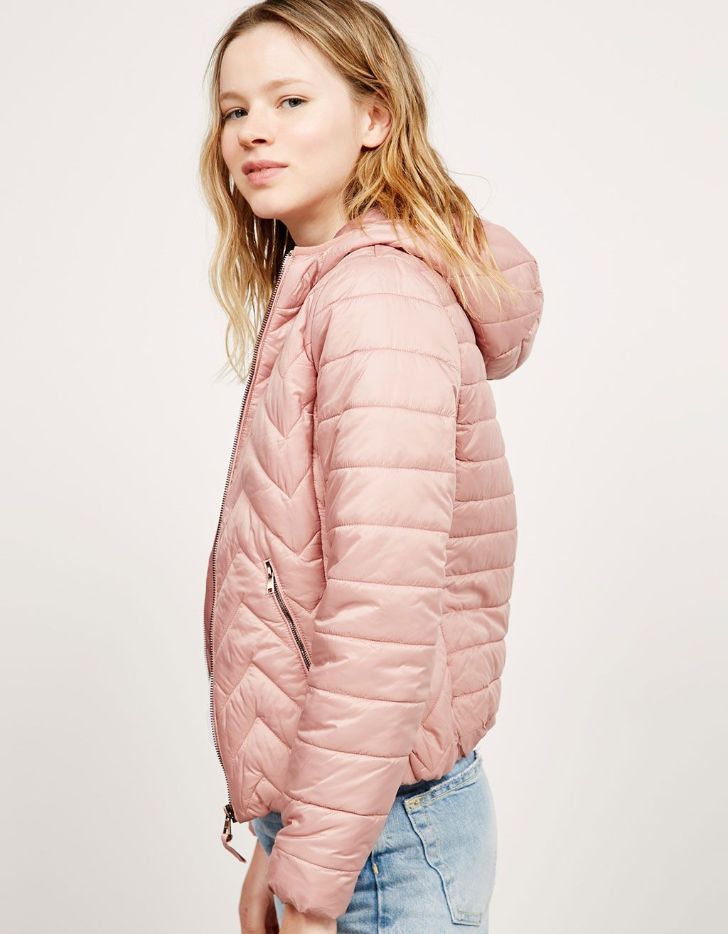 f3b8f9677832 BSK hooded fine nylon jacket. Discover this and many more items in Bershka  with…