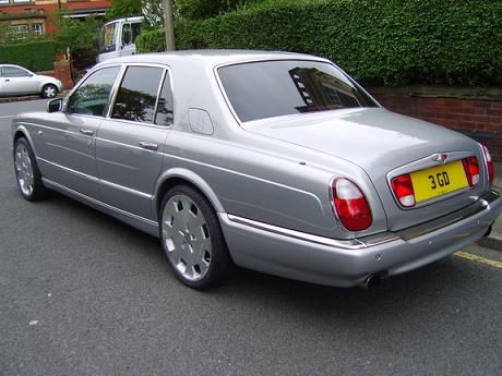 Length And Height Of The 2002 Bentley Arnage T 4dr Sedan Which Has
