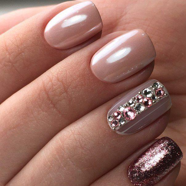 Pin de Annette Sanabria en uñas   Pinterest   Diseños de uñas, Uñas ...