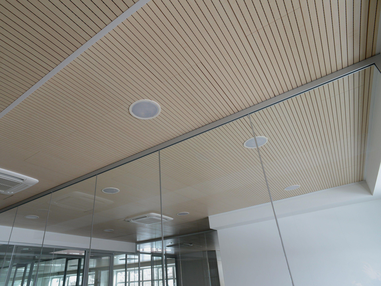 Pannelli per controsoffitto fonoassorbente in mdf collezione