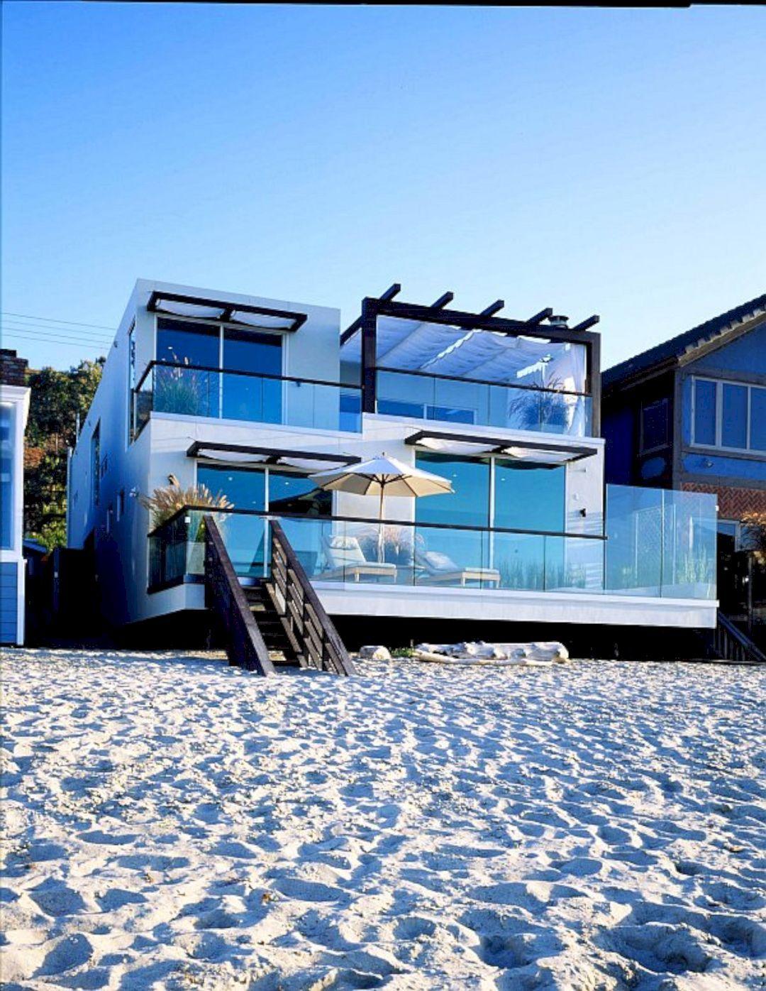 Modern Beach House Design Ideas to Welcome Summer | Futurist Architecture #beachhouse