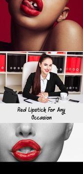 Photo of Red Lipstick For Any Occasion – Beauty  Red Lipstick for any Occasion   #makeup …