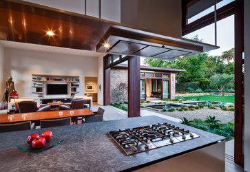 Thayer Residence Modern Kitchen Santa Barbara Neumann Mendro