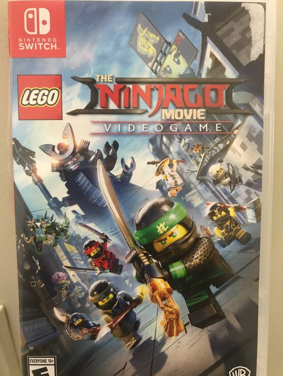 Lego Ninjago Movie Switch Game Lego Ninjago Movie Ninjago Games Lego Ninjago