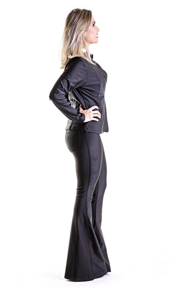 54173277e Calça Max Flare Power | Clothes | Calça, Calça couro flare e Calça couro
