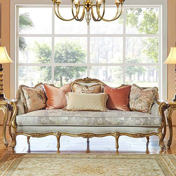 Cheap Neoclassic Style Solid Wood Sectional Sofas Furniture 0204 In 2021 Classic Furniture Living Room Furniture Sofa Set Luxury Furniture Living Room