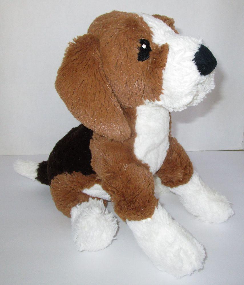Ikea Beagle Gosig Valp Dog 13 Soft Plush Stitched Eyes Stuffed
