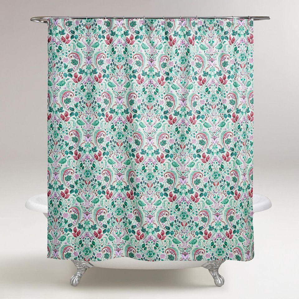 High Quality Dubai Bathroom Supplies Printed PVC Shower