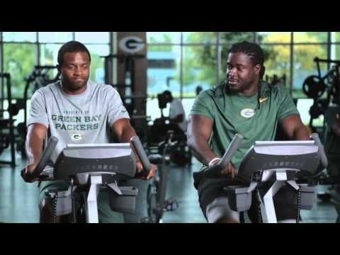 Awesome Randall Cobb And Eddie Lacy Gym Nfl Com Fantasy Football