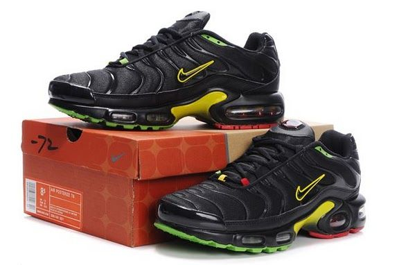 new product 2e2ed fb760 Air Max TN Mens In Black Green Yellow Red | Tn | Nike air ...