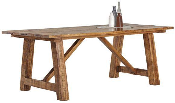 Esstisch In Massiv Mangoholz Natur Esstisch Kuche Tisch Tisch