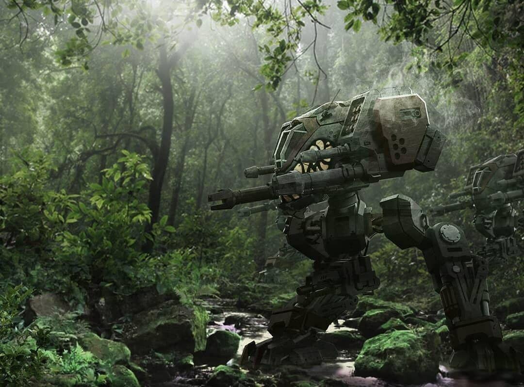 Nak Ma - Starcraft Goliath Illustration in 2020   Starcraft, Robots  artworks, Spaceship art