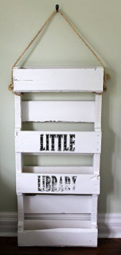 Wooden White Bookshelf Kids Solid Wood Bookshelves Book Shelf Childrens Bookcase Recycled Pallet You Can Get More Details By Clicking On The Image