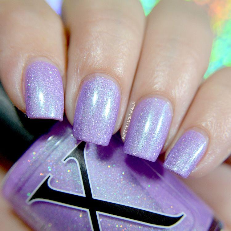 Glass Beach by Baroness X | Pretty Lush Nails | Baroness X | Pinterest