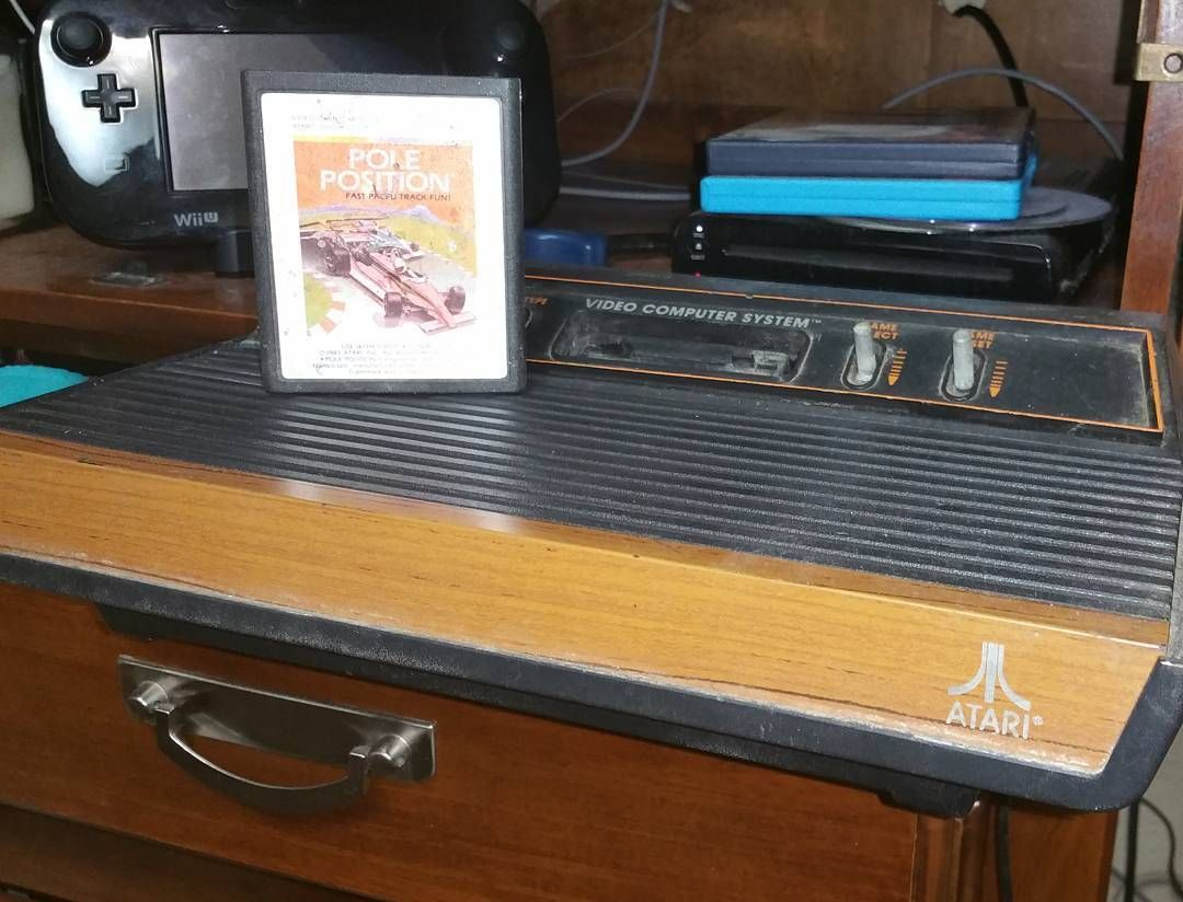 On instagram by retrobudgetgaming #atari2600 #microhobbit (o) http://ift.tt/1KUynTw first console and the first game I remember playing for it I may do a series of pics like this pic a console and showcase the first game I played #retrocollective