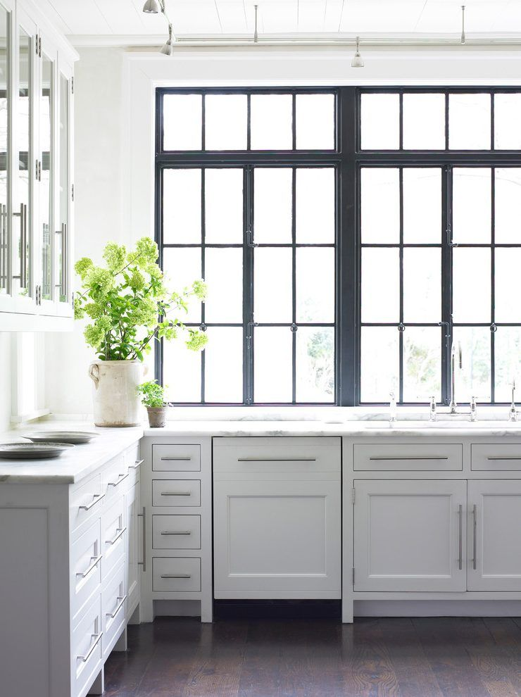 Black Window Frames Are So Stylish And Sophisticated. Black And White  Interiors You Will Fall In Love With. Our Favorite Ways To Use Black And  White In ...
