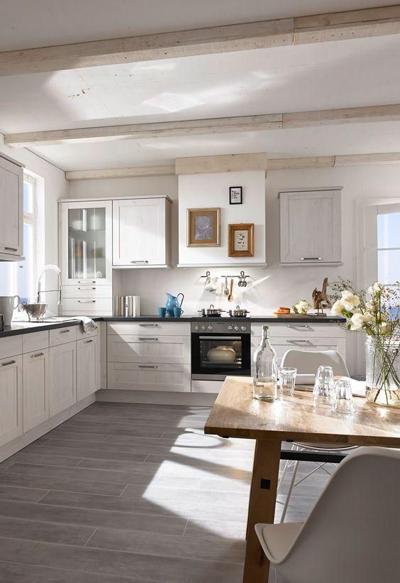 helle Küche, maritimer Style | Maritim Style | Pinterest | Maritim ...