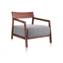 Kemi Lounge Chair Walnut   Lounge Chairs   Living_ Modani $560 Awesome Ideas