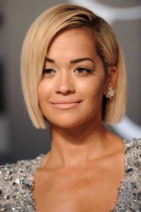 Pictures Of Short Straight Hairstyles Pinterest Blonde Bobs