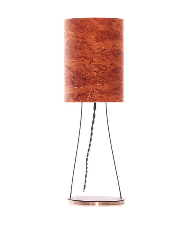 Table lamp / contemporary / wooden / acrylic - LUC - raum12 GbR
