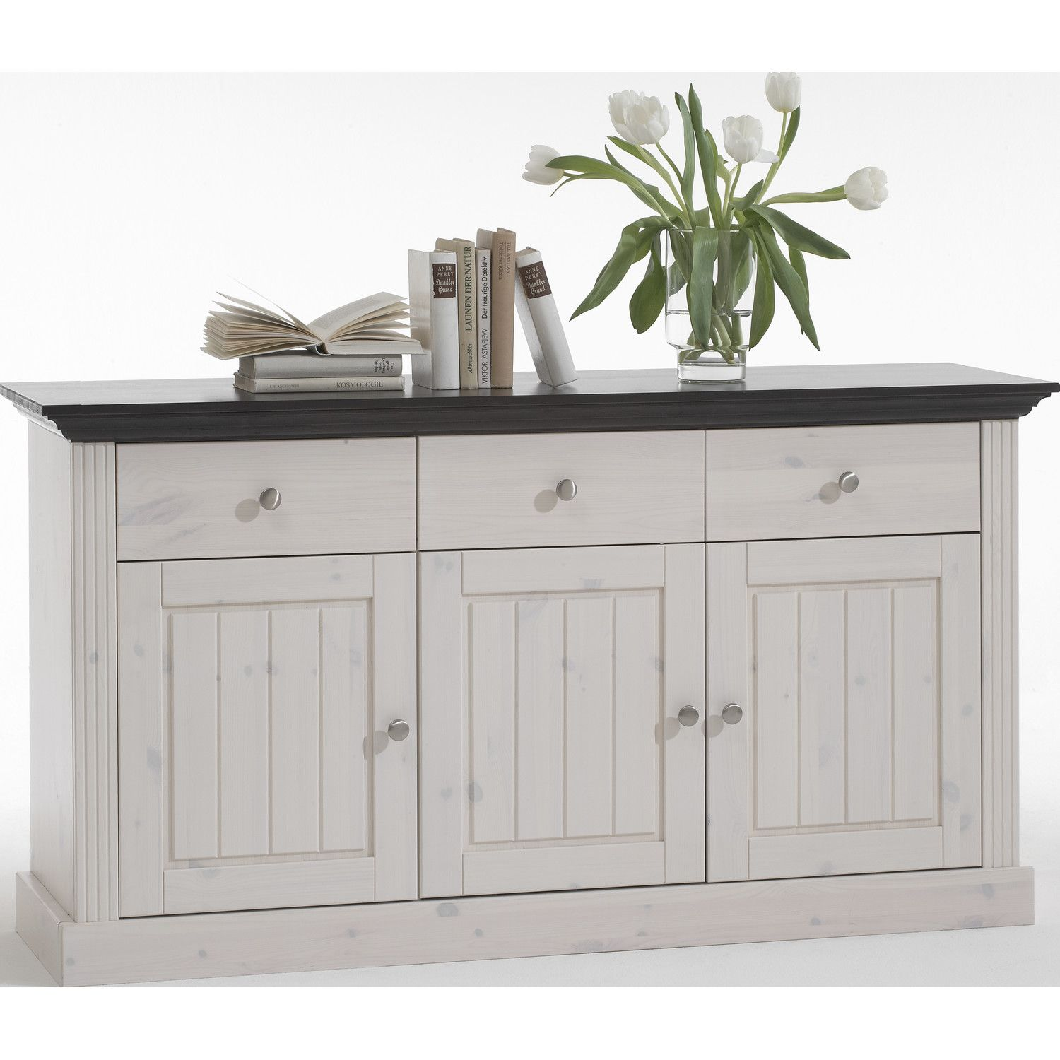 Furlong 3 Door, 3 Drawer Sideboard | Wayfair UK