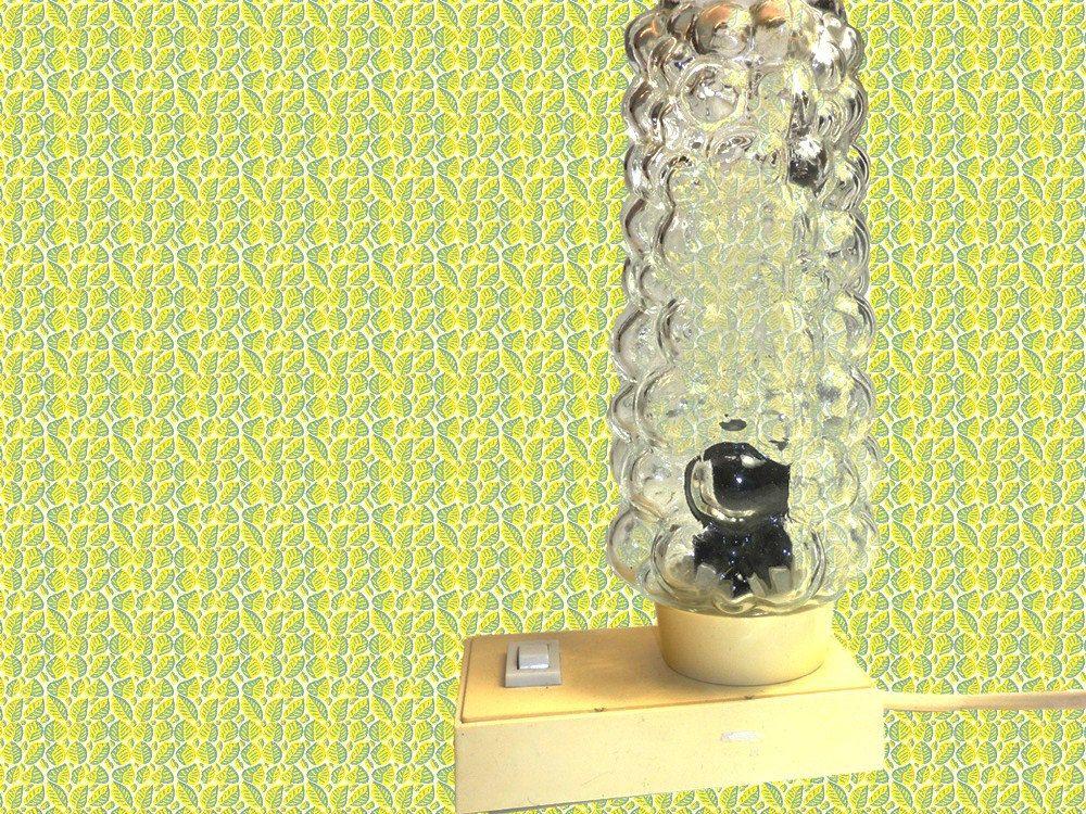 vintage bubbel nacht lampje slaapkamer lampje tafel lamp era