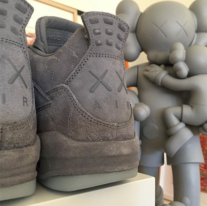 64d91e2ed54ee0 The KAWS x Air Jordan 4 is confirmed by KAWS himself. Retail price is  rumored to be  350