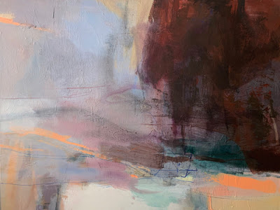 Contemporary Landscape Artists International Contemporary Art Abstract Landscape Painting From Stillness By I With Images Intuitive Artists Abstract Landscape Abstract
