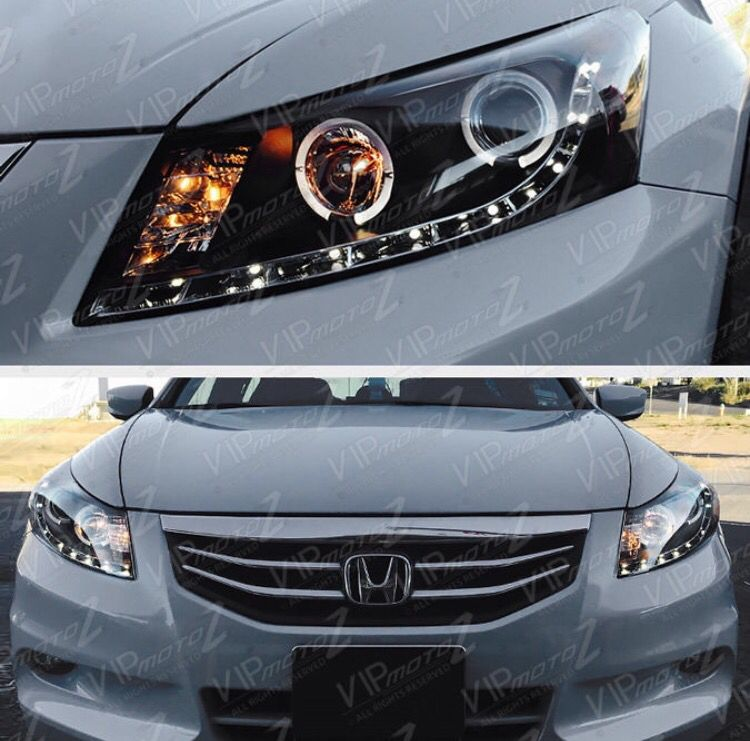 Halo Headlights Led For Honda Accord 2011 Ex Cars