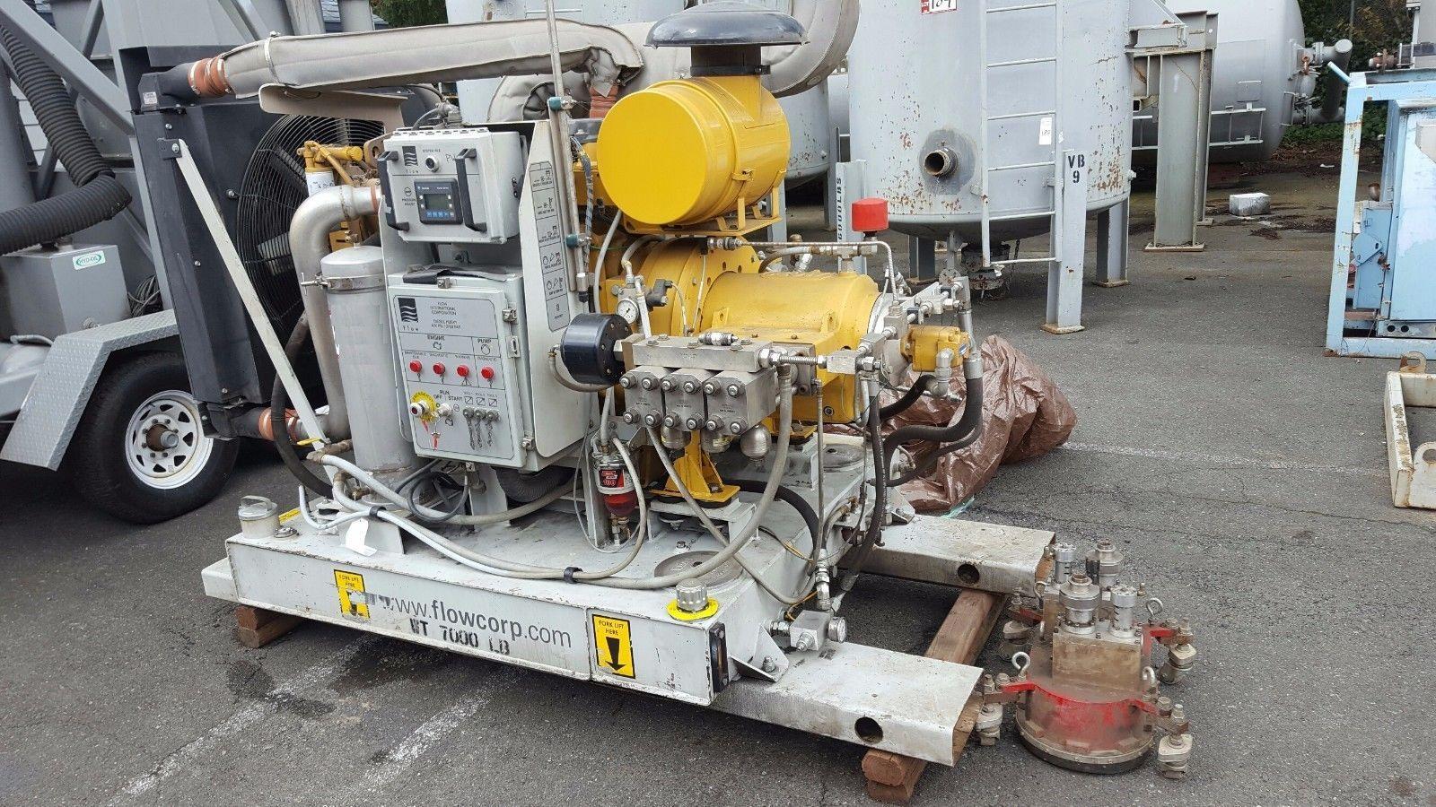2013 FLOW INTERNATIONAL HUSKY C9 40000 PSI WATER JET PUMP