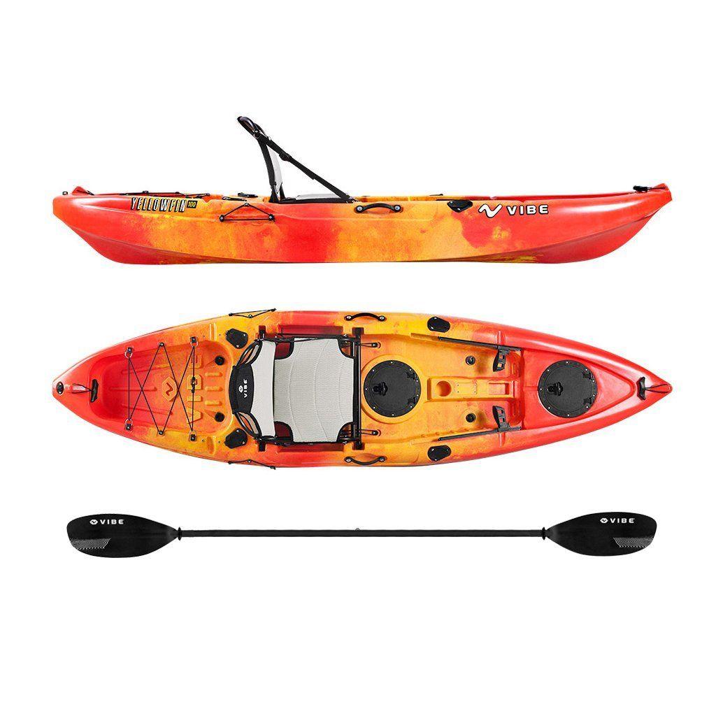 Vibe Kayaks Yellowfin 100 10 foot Angler Sit