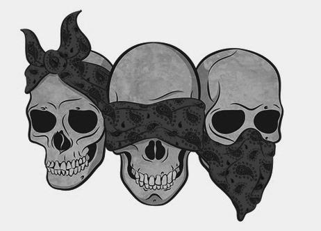 Hear No See No Speak No Evil Tumblr Monkey Tattoos Monkey Drawing Skull Tattoo Design