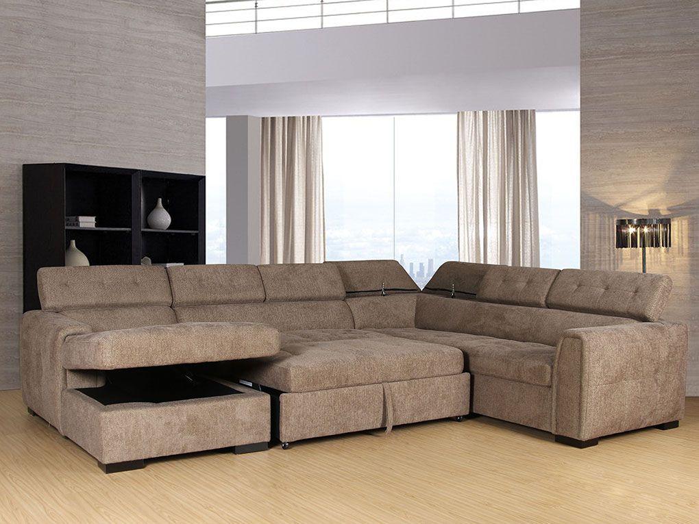 Toledo Frenzy Storage Sofa Sleeper Living Room Furniture