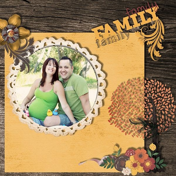 Charlene & Matthew Family. Love the layout and images used on this page.