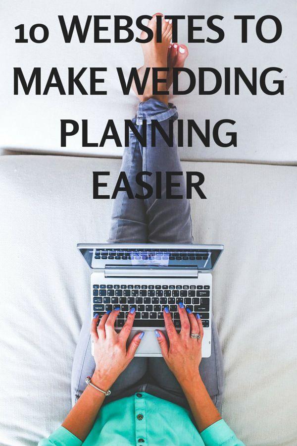 10 Websites to Make Wedding Planning Easier - Very Erin Bood \u0027 s