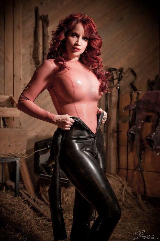 Racing leather fetish