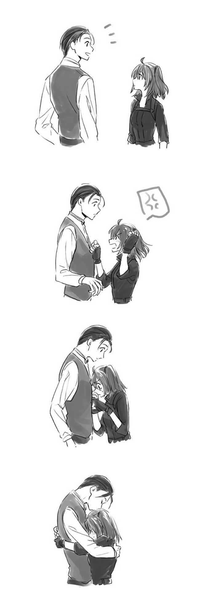 Holmes x Gudako