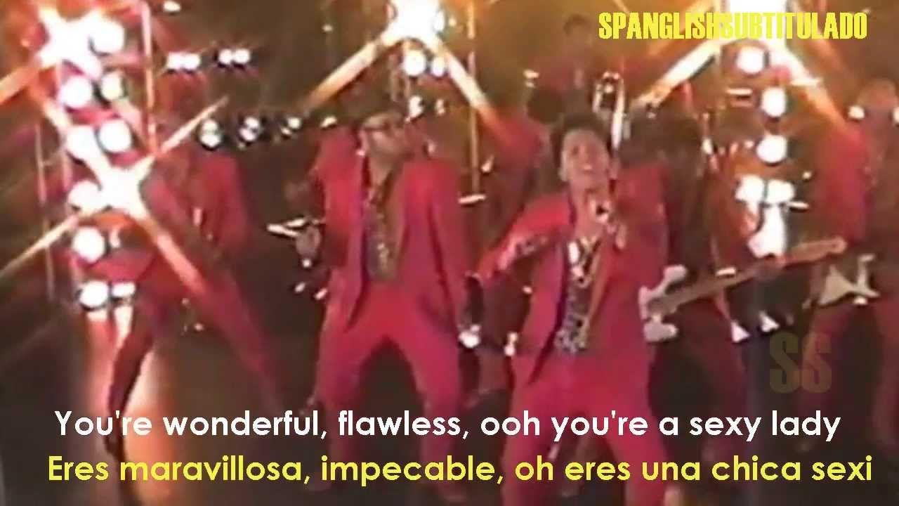 Bruno Mars Treasure Lyrics Sub En Español Español Videos Buenos Bruno Mars