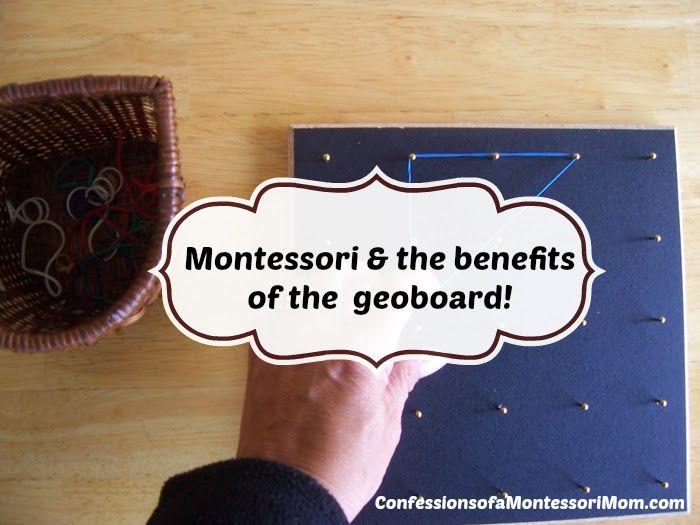 Lisa Nolan's Confessions of a Montessori Mom: Montessori & the benefits of the geoboard!