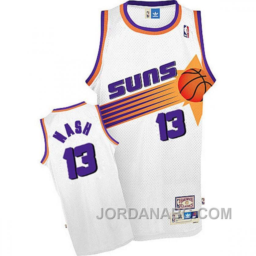 premium selection 3c7f2 62cc9 phoenix suns 13 steve nash revolution 30 swingman orange jersey