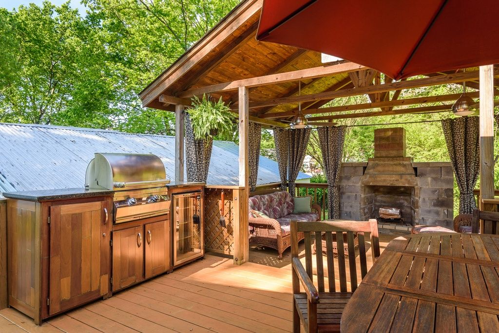 Chattanooga Home For Sale Outdoor, Dream backyard