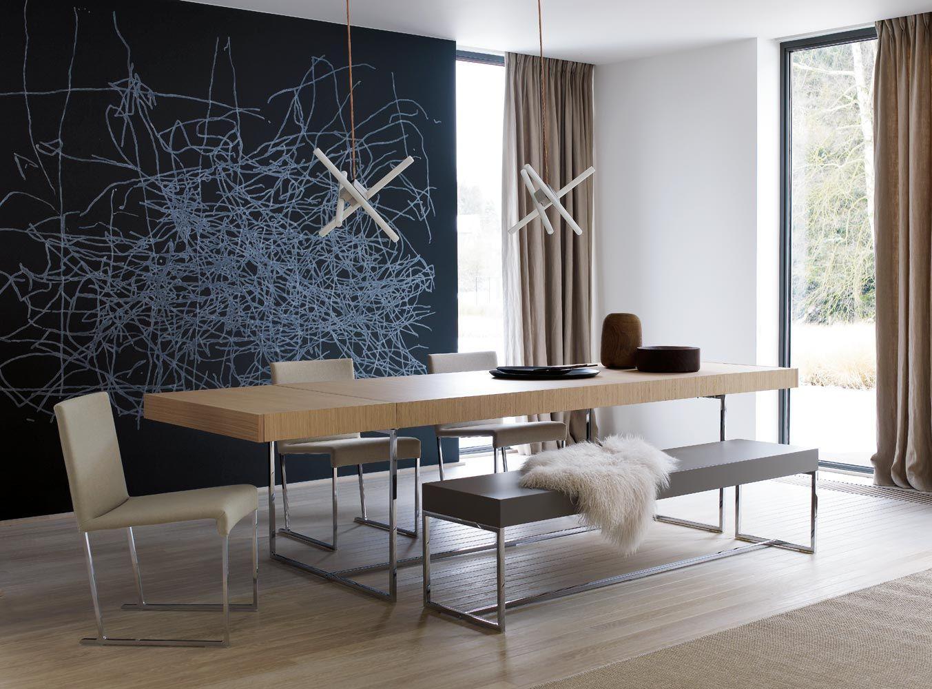 Long kitchen tables  BuB inspirations Nordic  Appartment  Pinterest  Italia