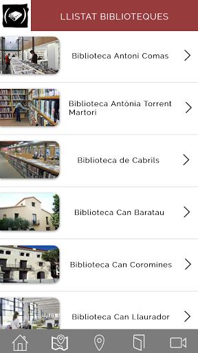 La guia de Biblioteques del Maresme per a mòbils es presenta com l'extensió de la  APP per a tablets, una eina dinàmica i ampliable per donar a conèixer tots els recursos que tenen les biblioteques d'aquest territori. Aquests recursos es van ampliant any rere any a la vegada que es creen noves biblioteques o s'afegeixen d'altres que no hi formaven part. <br>Aquesta ampliació a format mòbil permetrà una major difusió de tots els continguts que cada any incorporen les biblioteques…