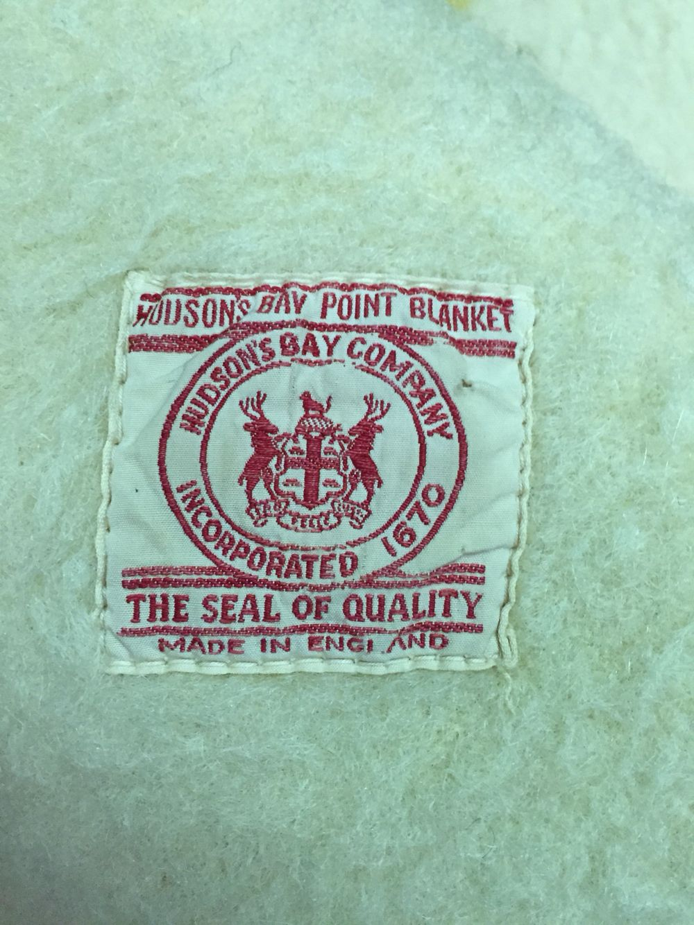 Hudson S Bay Co Early 1930s Hudson Bay Blanket Wool Blanket Blanket
