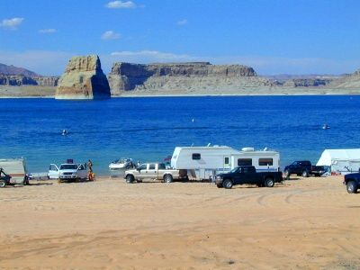Lone Rock Campground At Lake Powell Wahweap I Grew Up Here