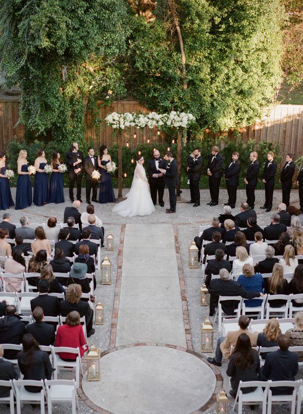 Stylish Wilmington Nc Wedding At The Brooklyn Arts Center Nc Wedding Art Center Wedding