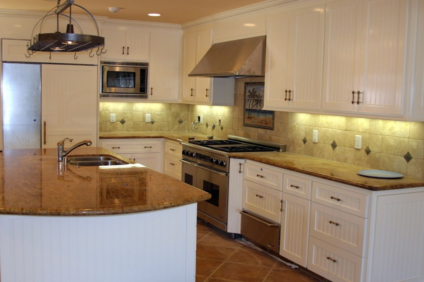 A beautiful kitchen remodel will all new