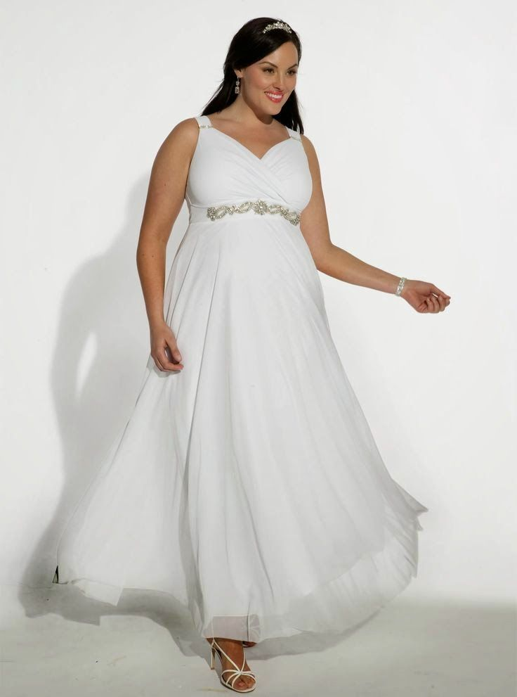 Espectaculares vestidos de bodas   Moda para gorditas   vestidos de ...