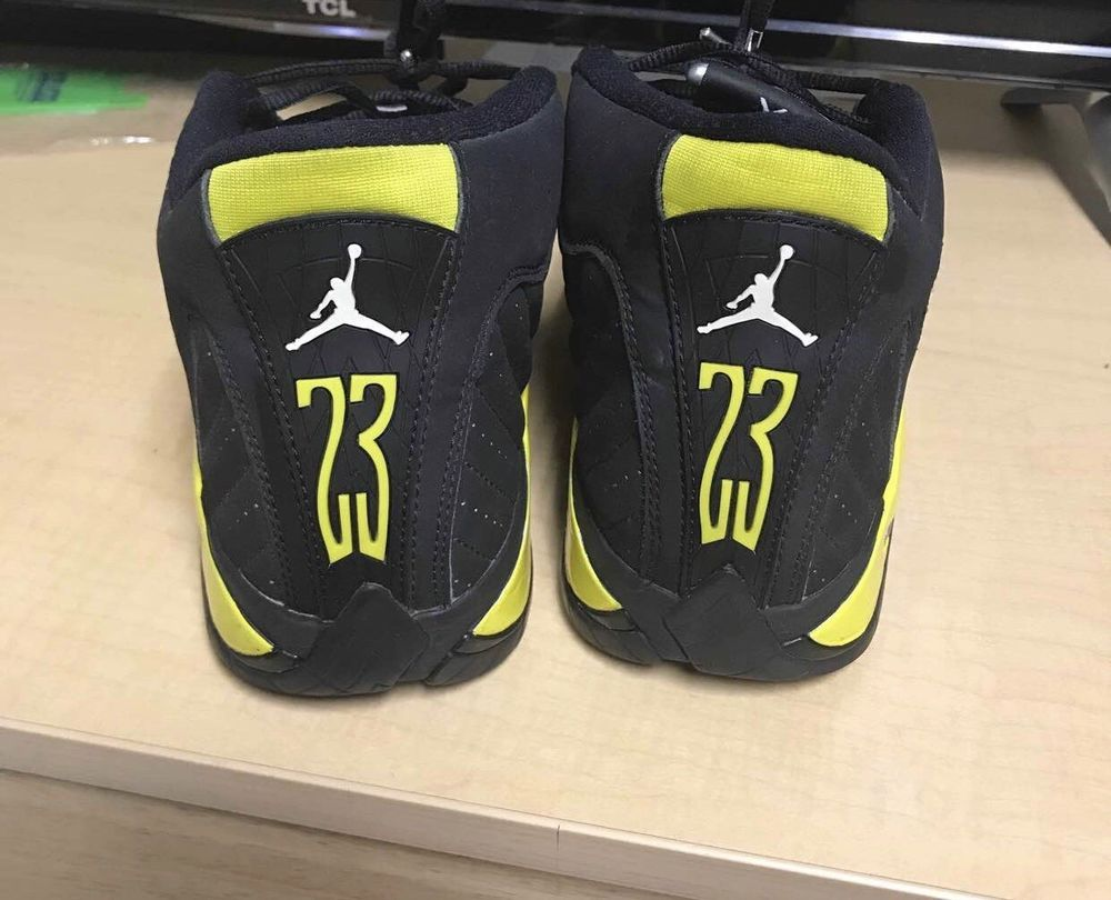 f074581ae88e8d jordan 14 thunder  fashion  clothing  shoes  accessories  mensshoes   athleticshoes (ebay link)